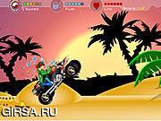 Флеш игра онлайн Участвовать в гонке Rockfury ATV