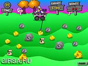 Флеш игра онлайн Горнорабочая 2 утесов / Rocks Miner 2