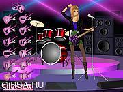Флеш игра онлайн Rock Star