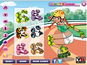 Флеш игра онлайн Спортивный образ