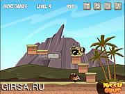 Флеш игра онлайн Пазл каменного века / Rolly Stone Age