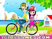 Флеш игра онлайн Romantic Bike Lovers