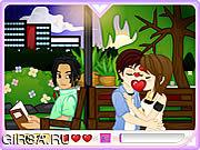 Флеш игра онлайн Романтичные поцелуи / Romantic Kisses