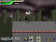 Флеш игра онлайн Конькобежец крыши