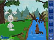 Флеш игра онлайн Кролик Рудольф