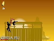 Флеш игра онлайн Беги, Ниндзя, Беги / Run Ninja Run 2