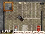 Флеш игра онлайн Стоянка для ретро-автомобилей / Rusty Car Parking
