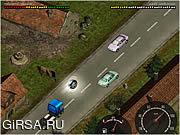 Флеш игра онлайн Scania Driver