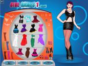 Флеш игра онлайн Веселый наряд для сальсы / Salsa Dress Up