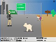 Флеш игра онлайн Свиной Грипп Спасения