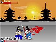 Флеш игра онлайн Самурай Мудак