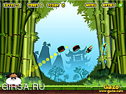 Флеш игра онлайн Самурай Панда