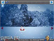 Флеш игра онлайн Рождество Санта Побег-1 Подарки / Santa Christmas Gifts Escape-1