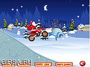 Флеш игра онлайн Санта / Santa Drive