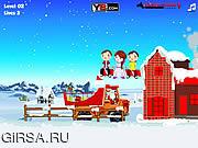 Флеш игра онлайн Санта подарков / Santa Gifts Delivery