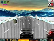 Флеш игра онлайн Санта-водитель / Santa Road
