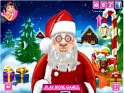 Флеш игра онлайн Санта / Santa's Real Haircuts