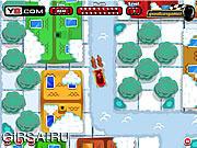 Флеш игра онлайн Парковка Санты / Santa's Sleigh Parking