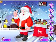 Флеш игра онлайн Одень Санту на Рождество / Santa Special Christmas