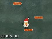 Флеш игра онлайн Санта и небеса / Santa Up There