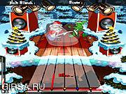 Флеш игра онлайн Santa Rockstar
