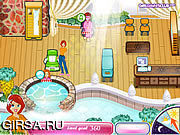 Флеш игра онлайн Оздоровительный спа-салон Саши