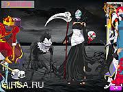 Флеш игра онлайн Страшный Halloween Dressup