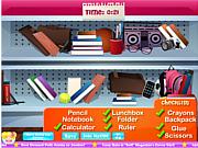Флеш игра онлайн Школьный магазин / School Store Hidden Objects