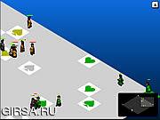 Флеш игра онлайн Школа войны