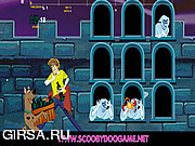 Флеш игра онлайн Губка Боб против призраков / Scoobydoo Anti Ghost