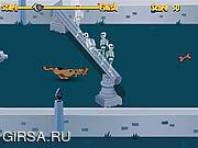 Флеш игра онлайн Черточка 1000 погоста Scooby Doo / Scooby Doo 1000 Graveyard Dash