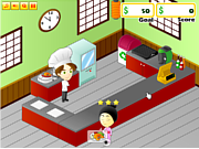 Флеш игра онлайн Магазин морепродуктов