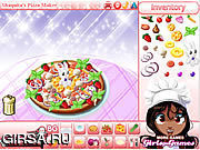 Флеш игра онлайн Shaquita Pizza Maker