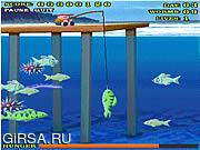 Флеш игра онлайн Shark Bait