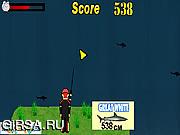 Флеш игра онлайн Sharks Fishing