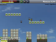 Флеш игра онлайн Тестирование нового робота / Shatterbot
