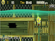 Флеш игра онлайн Sponge Bob Square Pants: Ship O' Ghouls