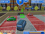 Флеш игра онлайн Shopping Mall Parking