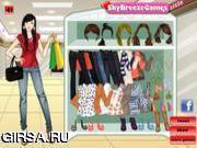 Флеш игра онлайн Поход по магазинам