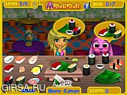 Флеш игра онлайн Суши-бар сиси / Sisi's Sushi Bar