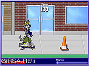 Флеш игра онлайн Разведчик Скейтбординг / Scout Skateboarding