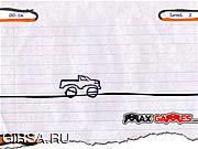 Флеш игра онлайн Крутой наездник / Sketch Rider