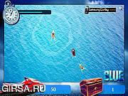Флеш игра онлайн Blue Ski Challenge