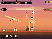 Флеш игра онлайн Охотник за костями / Skullhunter