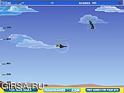 Флеш игра онлайн Самолет-истребитель неба