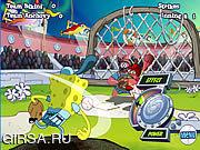 Флеш игра онлайн Слаггер Спанч Боб Зашибенная / Spongebob Slammin' Slagger