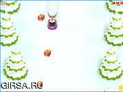 Флеш игра онлайн Катания на санях