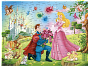 Флеш игра онлайн Спящая красавица: пазл / Sleeping Beauty Sort My Jigsaw