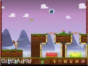 Флеш игра онлайн Стрельба из катапульт