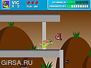 Флеш игра онлайн Small Dragon Adventure